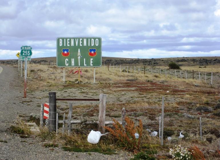 Chili Voyage Patagonie vienvenido a Chile