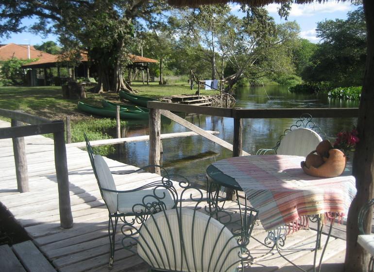 Brésil Voyage Pantanal Refugio da Ilha veranda