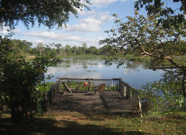 Brésil Voyage Pantanal Refugio da Ilha ambiance rivière
