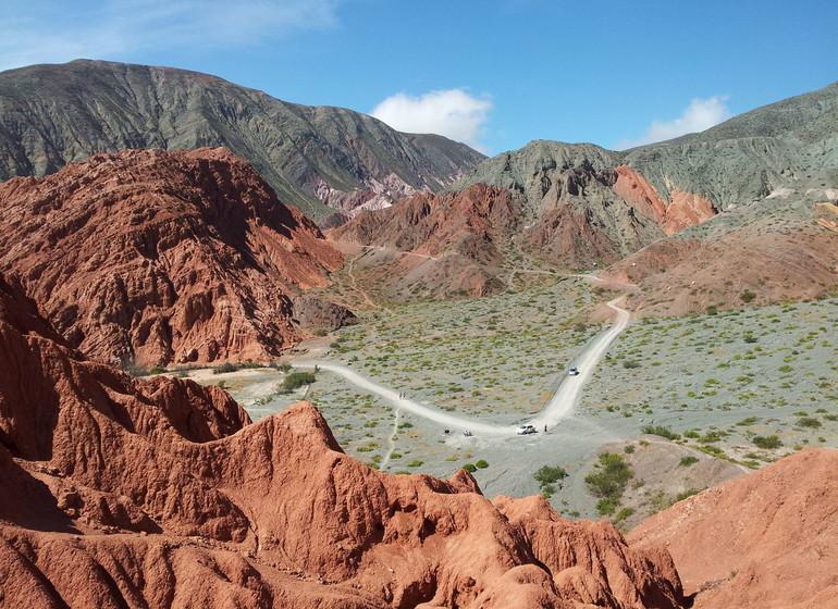 Argentine Voyage Nord-Ouest Montagne de 7 couleurs