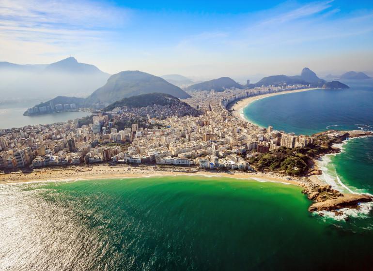 Brésil Voyage Rio Vue d'oiseau