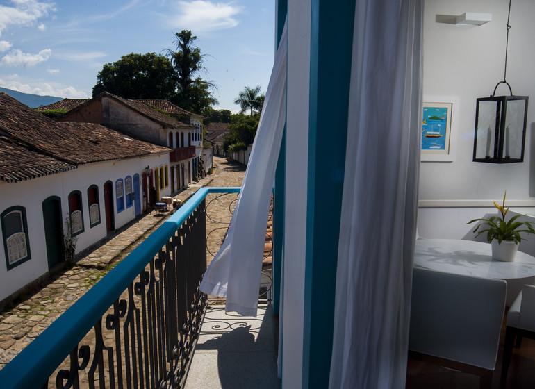 Brésil Voyage Paraty Casa Turquesa suite branca