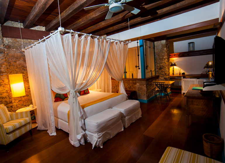 Brésil Voyage Paraty Casa Turquesa suite royale