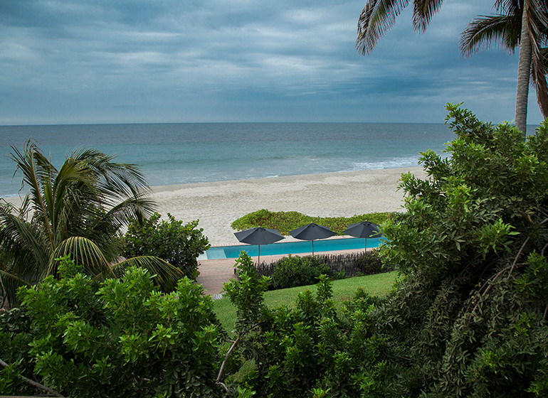 Pérou Voyage Mancora Kichic Hotel plage