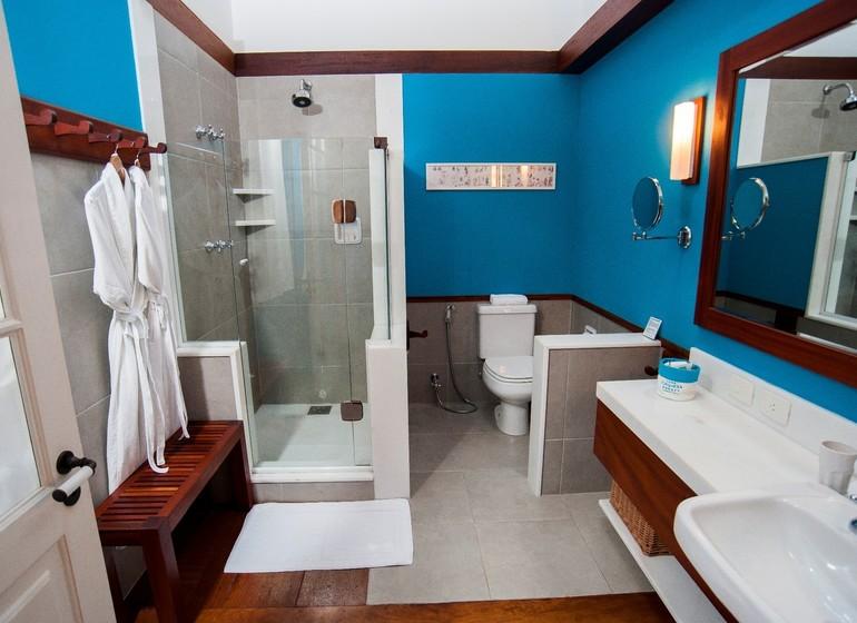 Brésil Voyage Paraty Casa Turquesa salle de bains