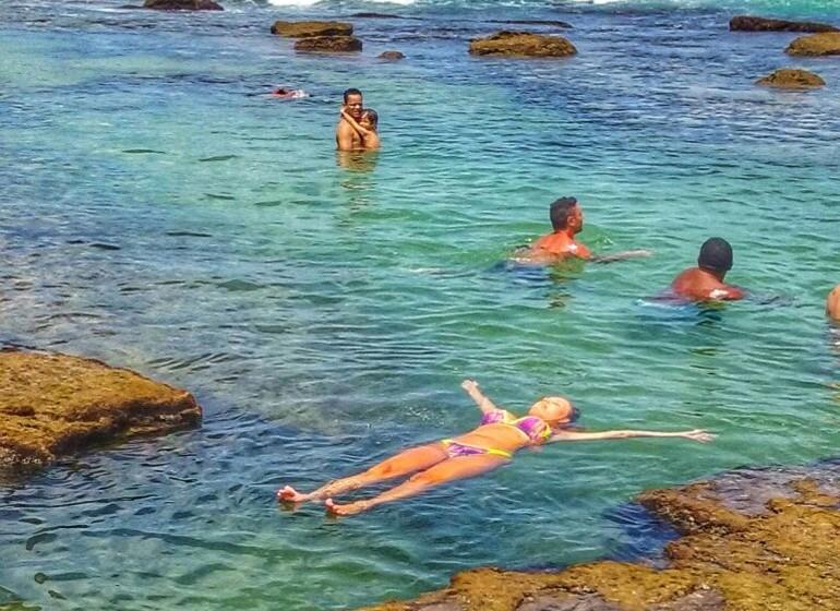 Brésil Voyage Pipa piscines naturelles