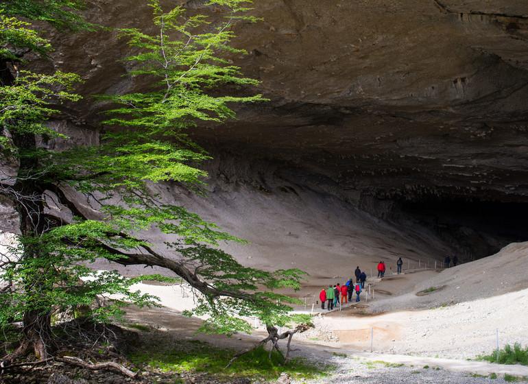 Chili Voyage Paine Trek grotte