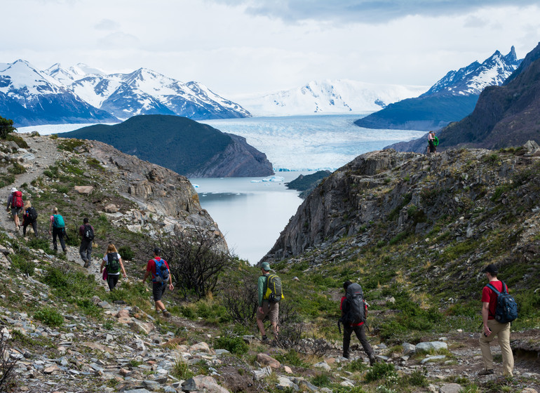 Chili Voyage Paine Trek à pied