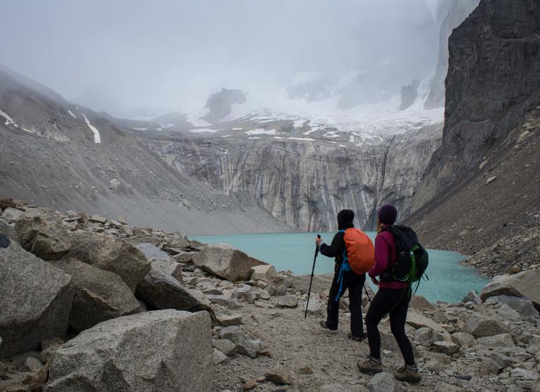 Chili Voyage Paine Trek il fait frais