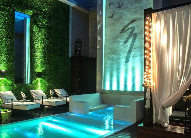 Argentine Voyage Buenos Aires 1828 Smart Hotel terrasse piscine