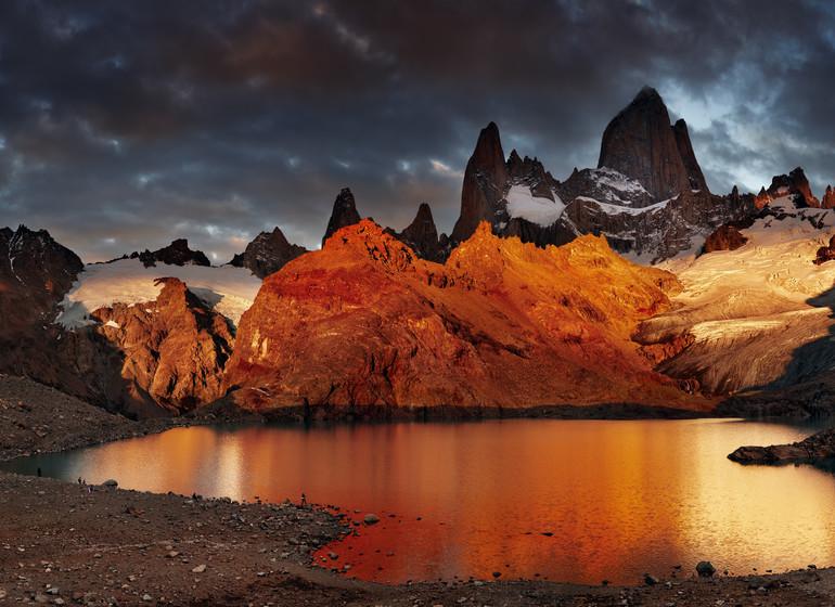 Argentine Voyage Explora El Chalten Laguna los tres en la tarde
