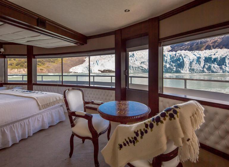 Argentine Voyage Parc National des Glaciers Marpatag Cruise cabine
