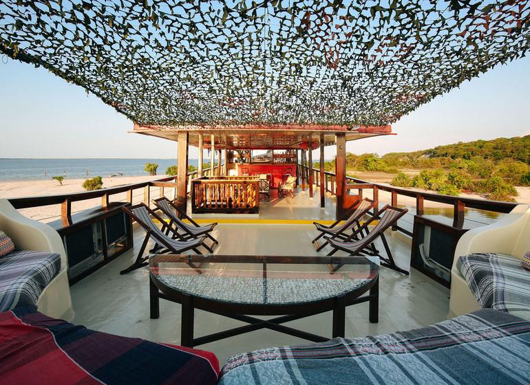 Brésil Voyage Amazon Dream sundeck