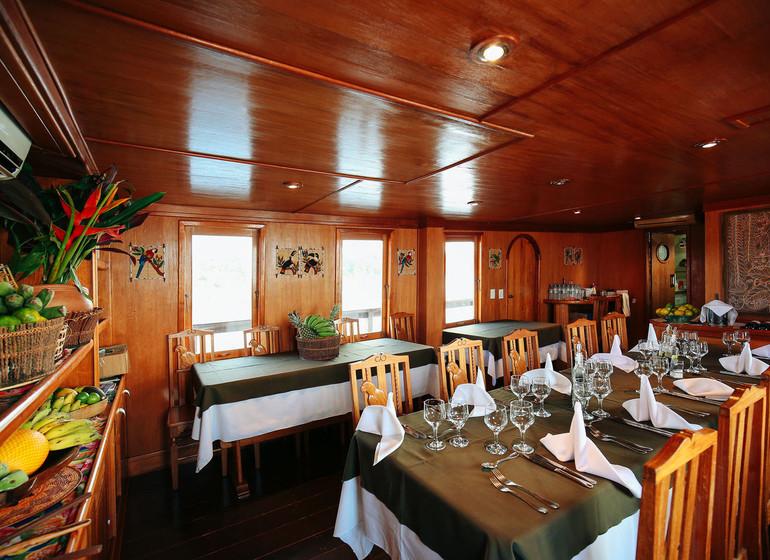 Brésil Voyage Amazon Dream salle à manger