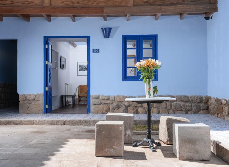 Pérou Voyage Cusco Quinta San Blas patio