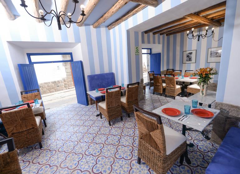Pérou Voyage Cusco Quinta San Blas restaurant