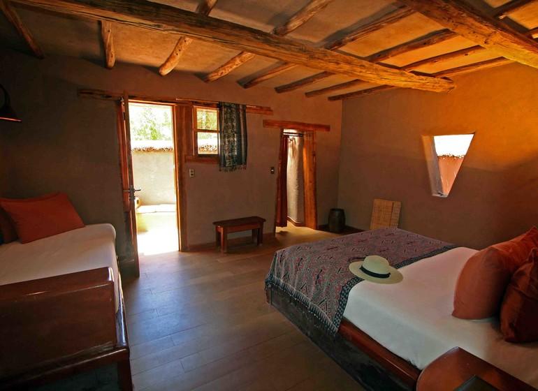 Chili Voyage Altiplanico Hotel double avec lit suppl