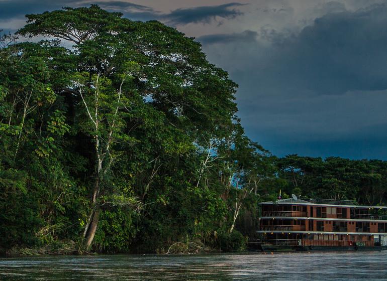 Croisière sur la rivière Napo : M/V Anakonda Amazon