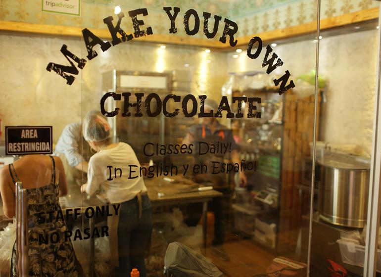 Pérou Voyage Cirqa hotel Arequipa fabrication de chocolat artisanal