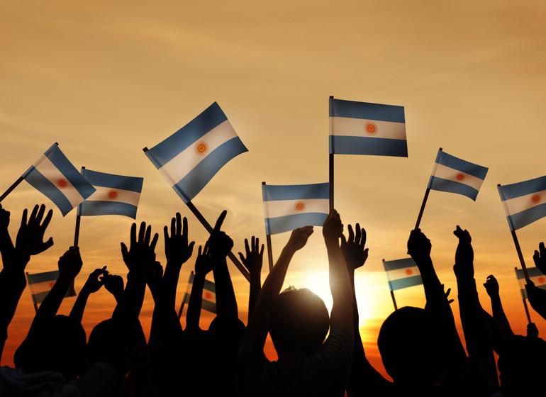 Argentine Voyage drapeaux