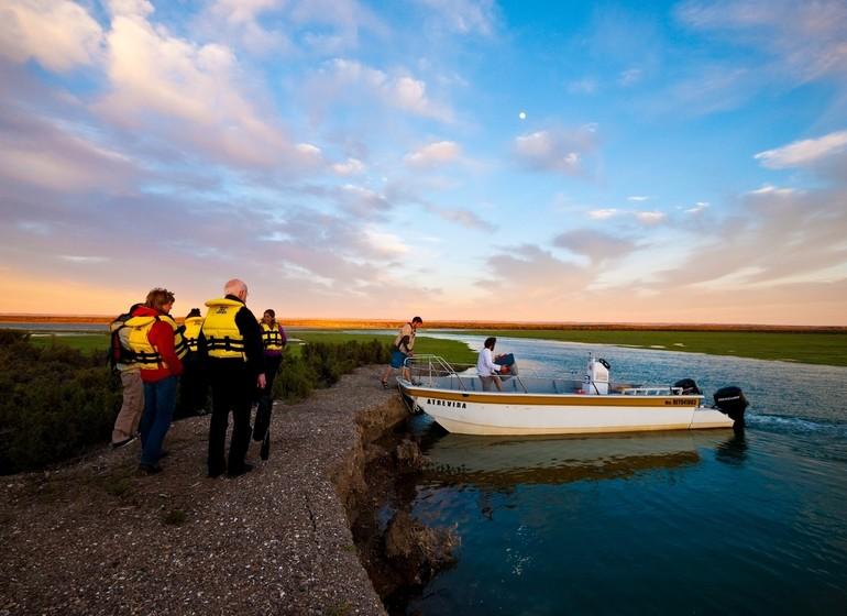 argentine Voyage Bahia Bustamante excursion bateau à moteur