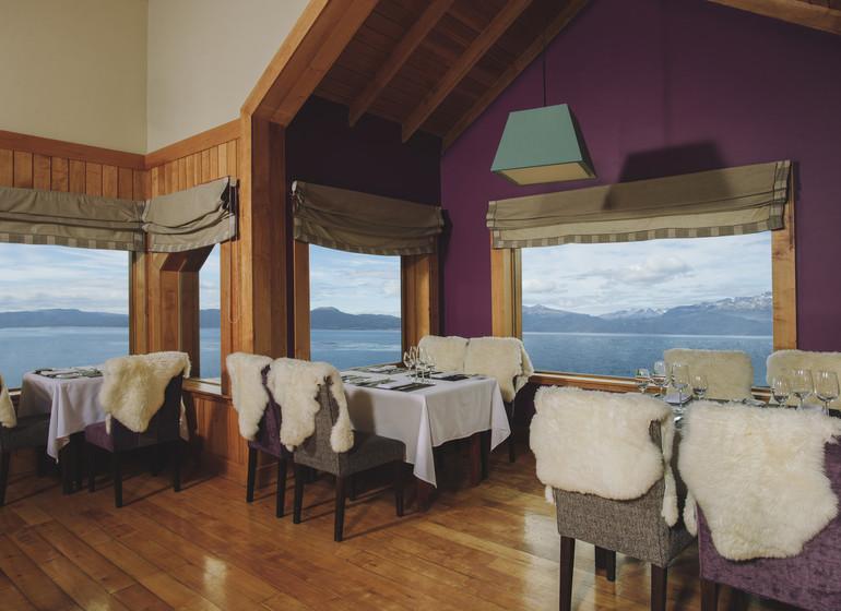 Argentine Voyage Ushuaia Los Cauquenes restaurant