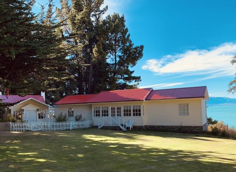 Argentine Voyage Patagonie Estancia La Maipú de l'extérieur