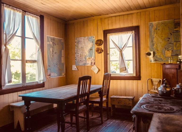 Argentine Voyage Patagonie Estancia La Maipú intérieur