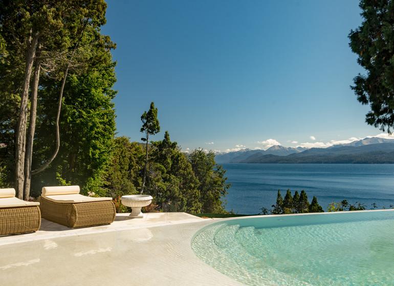Argentine Voyage Lago Nahuel Huapi Villa Beluno extér.
