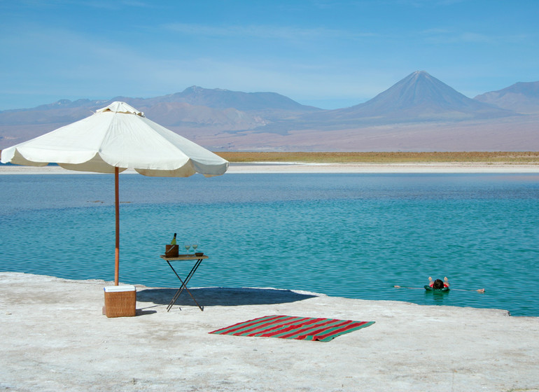 Chili Voyage Awasi Atacama excursion Laguna Cejar