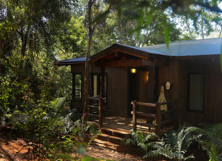 Argentine Voyage Iguazu Awasi Lodge suite extérieur