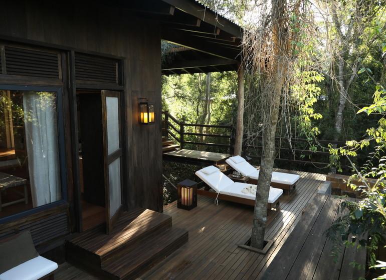 Argentine Voyage Iguazu Awasi Lodge suite terrasse