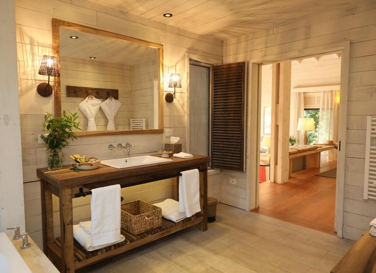 Argentine Voyage Iguazu Awasi Lodge salle de bains