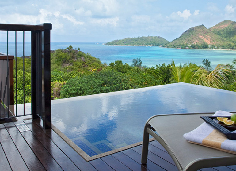 Hotel Raffles, Praslin, Seychelles