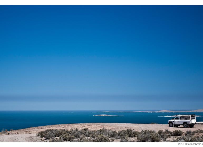 argentine Voyage Bahia Bustamante exc 4X4