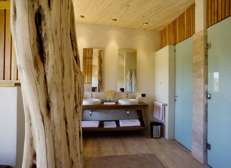 Chili Voyage Explora Atacama court intérieure salle de bains