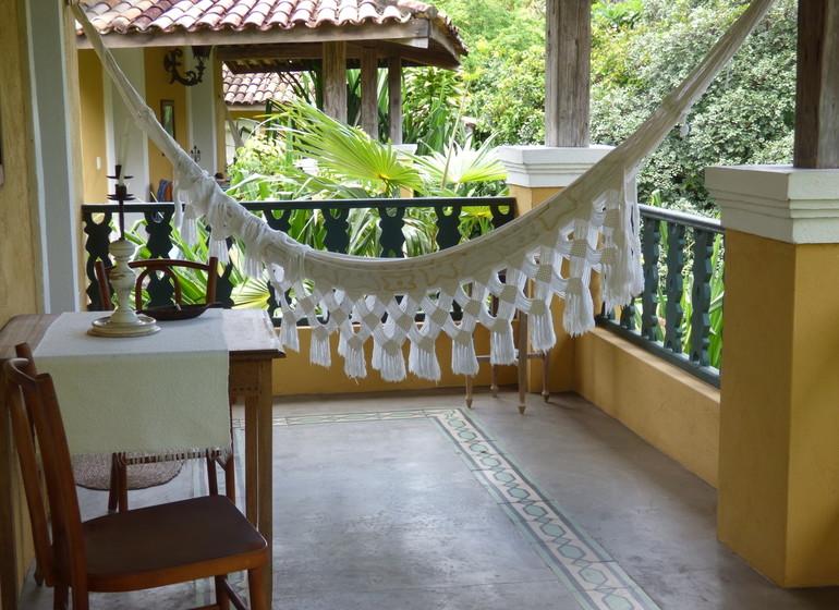 Brésil Voyage Pipa Toca da Coruja veranda bungalow spécial