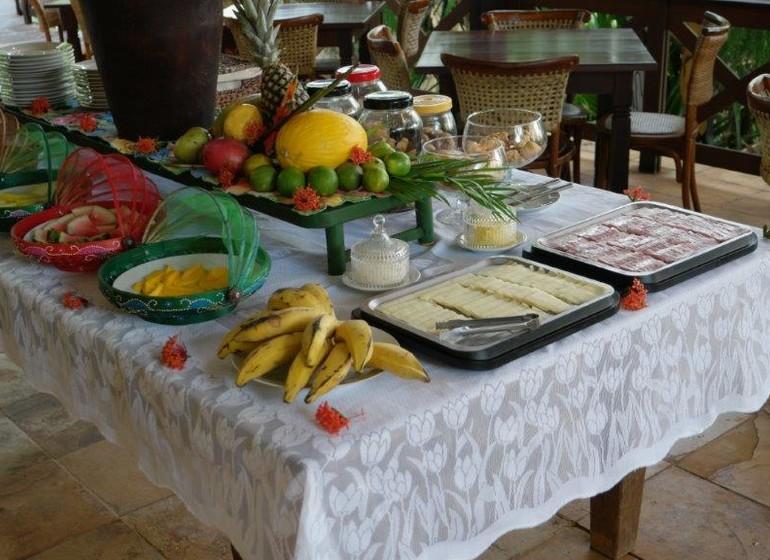 Brésil Voyage Pipa Thalassa Pousada café de manha