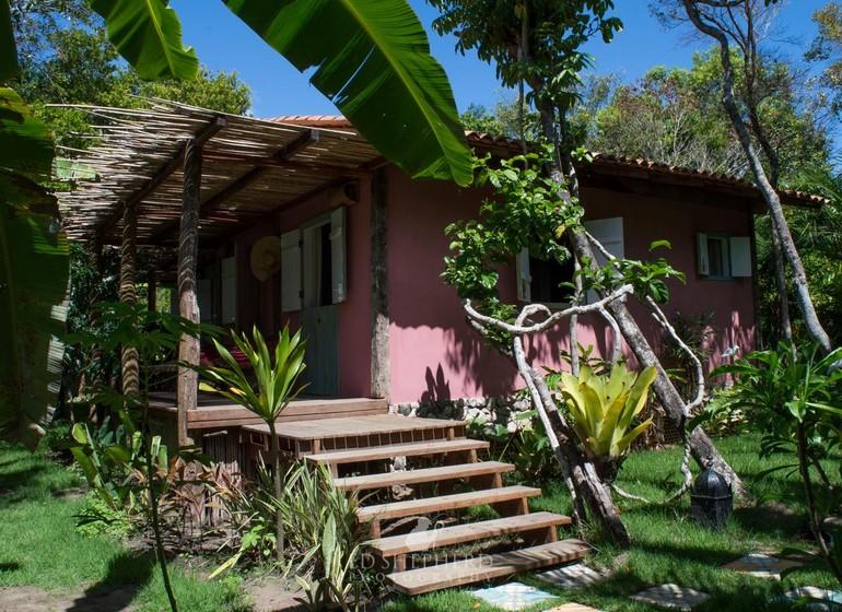 Brésil Voyage Marau Butterlfy House bungalow