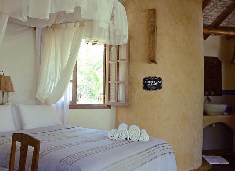 Brésil Voyage Marau Butterlfy House chambre