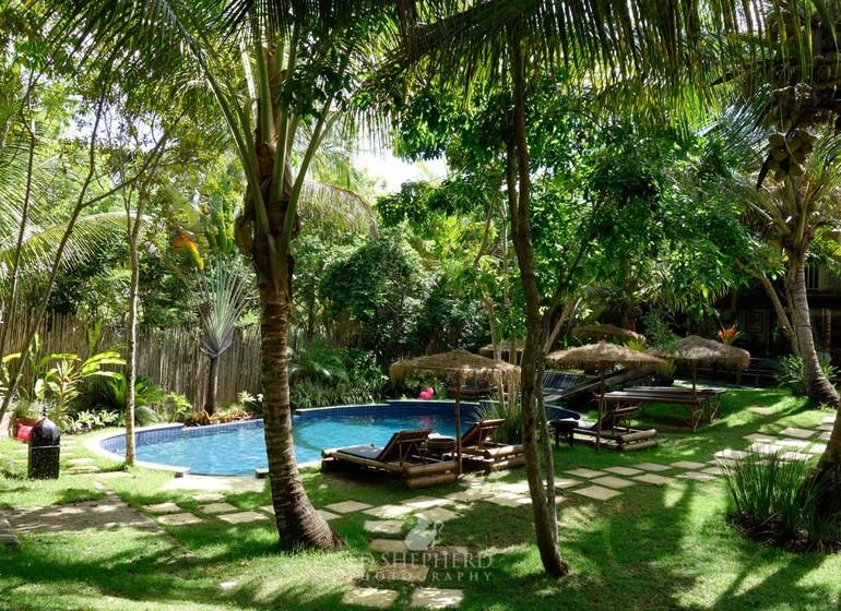 Brésil Voyage Marau Butterlfy House piscine