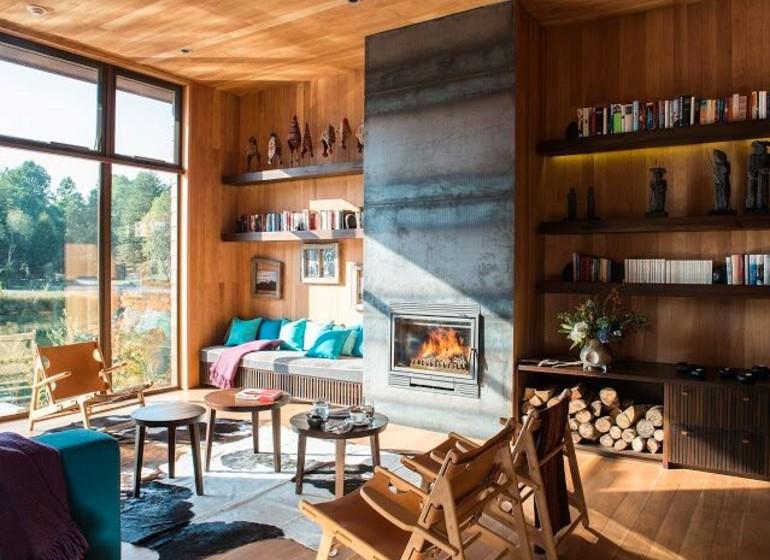 Chili Voyage Vira Vira andbeyond salon avec cheminée