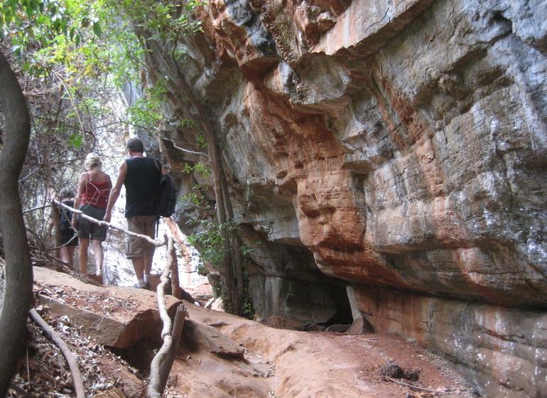 Brésil Voyage Chapada Diamantina entrée grotte