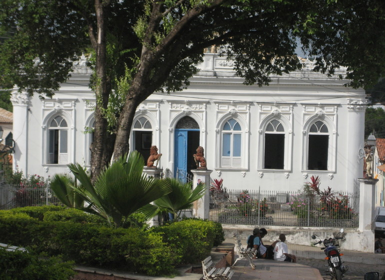 Brésil Voyage Lençois maison blanche centre