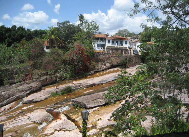 Brésil Voyage Lençois rivière
