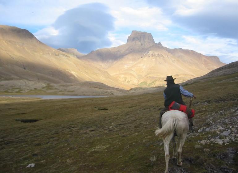 Argentine Voyage Patagonie Aguas Arriba Lodge sortie à cheval