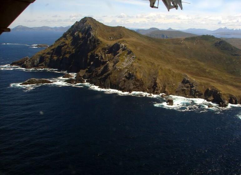 Voyage Argentine Cap Horn vue du ciel I