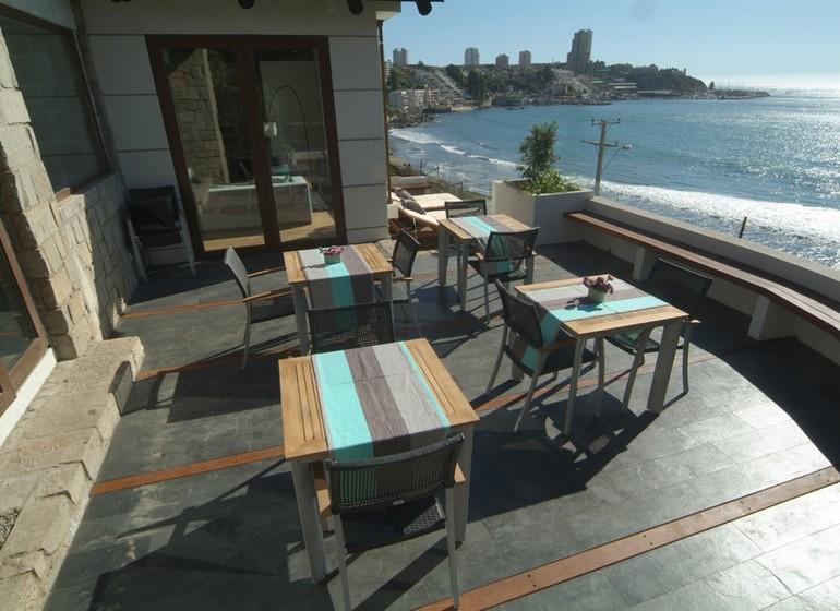 Voyage Chili Casa Doca Hotel terrasse