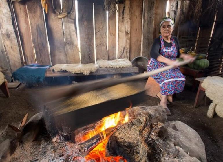 Chili Voyage communauté Mapuche crédit Viajes Ancestrales