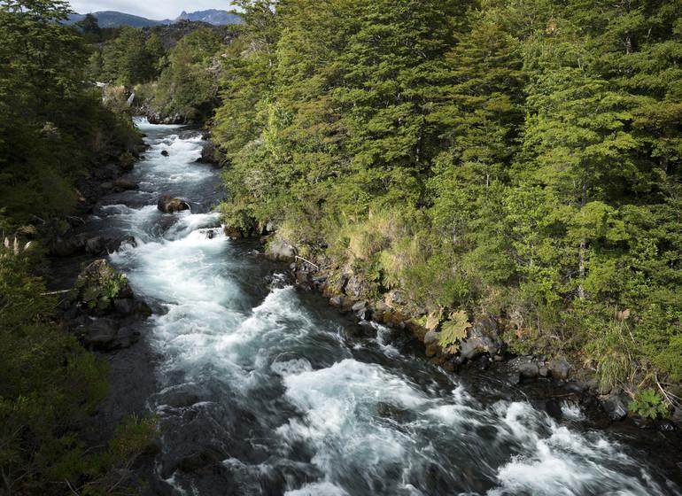 Chili Voyage Futangue Parc rivière
